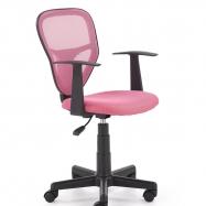 Dětská otočná židle SPIKER růžová