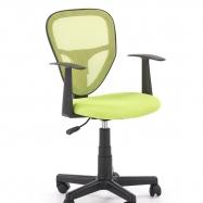 Dětská otočná židle SPIKER zelená