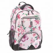 Ergonomický školský batoh Flowers