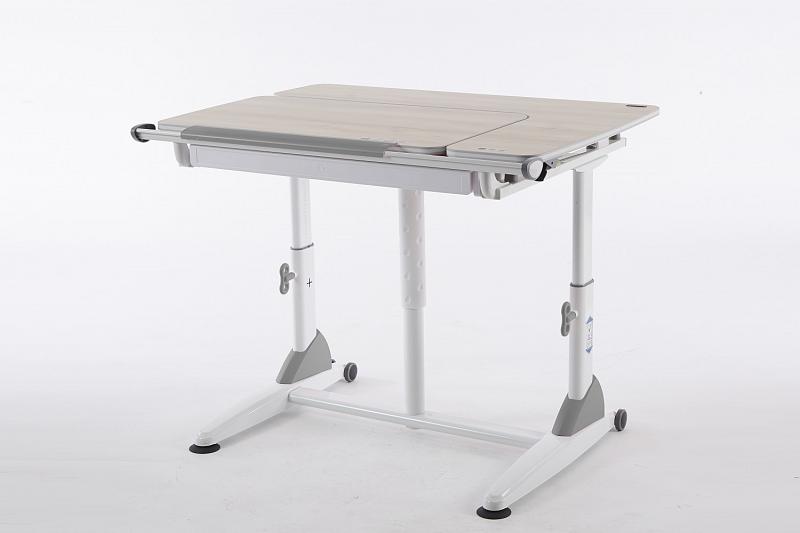 Rostoucí stůl Junior II akácie - šedý