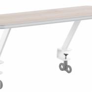 Odkladacia polička akácie pre stoly Žolík II a Junior II (dekor akácie)