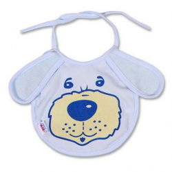 Detský podbradník New Baby modrý