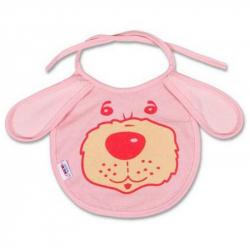 Detský podbradník New Baby ružový