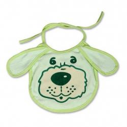 Detský podbradník New Baby zelený