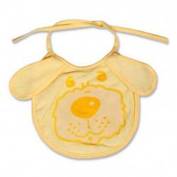 Detský podbradník New Baby žltý