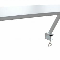 Odkladacia polička pre stoly Žolík II - dekor biely céder