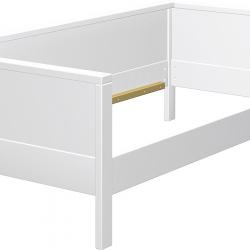 Łóżko Haba Matti z jednostronnym wypełnieniem 7803 białe