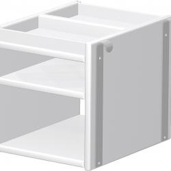 Półka wisząca do biurka Haba Matti 7819 biała