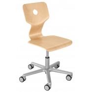 Rosnące krzesełko Haba Matti Beech naturalne