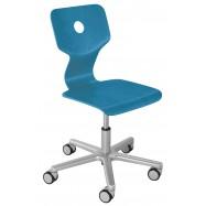 Rostoucí židle Haba Matti Beech modrá