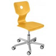 Rosnące krzesełko Haba Matti Beech żółte