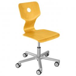Rostoucí židle Haba Matti Beech žlutá
