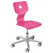 Rostoucí židle Haba Matti Beech růžová