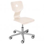 Rostoucí židle Haba Matti Beech bílá