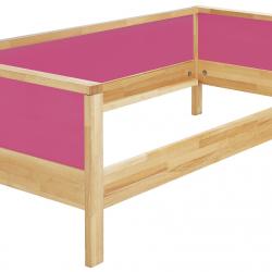 Łóżko Haba Matti z jednostronnym wypełnieniem 8371 różowe