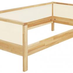 Łóżko Haba Matti z jednostronnym wypełnieniem 8371 białe