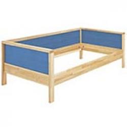 Łóżko Haba Matti z jednostronnym wypełnieniem 8371 niebieske