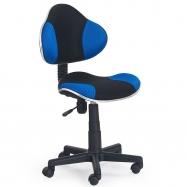 Dětská otočná židle Halmar FLASH modrá-černá