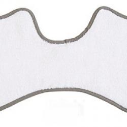 Pieluszka frote na ramiona biała