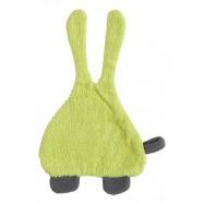 Śliniak frote z uszami Jollein zielony