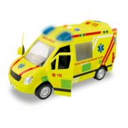 Ambulancia na batérie