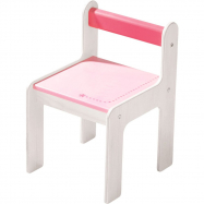 Detská stolička Haba ružová 8477