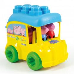 Clementoni Clemmy Wiaderko Autobus szkolny Świnki Peppy 17248
