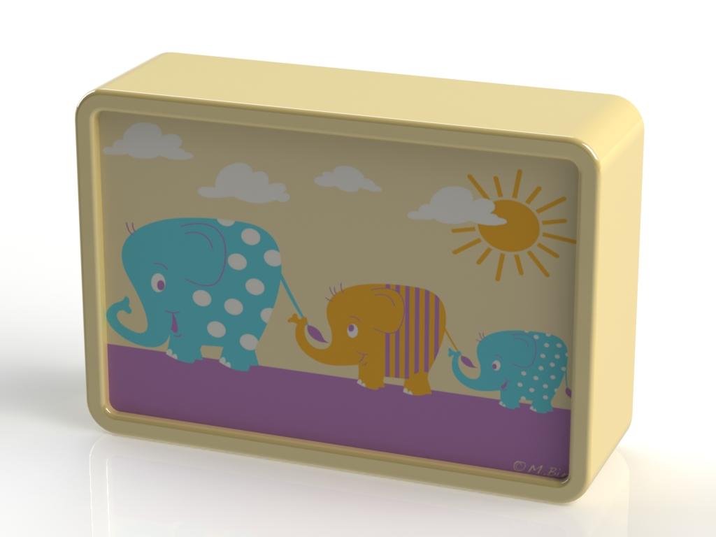 Reer LED světlo Elephant+světelný senzor
