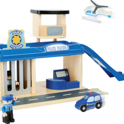 Policajná stanica s príslušenstvom