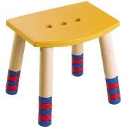 Haba dětská židle žlutá  HH2920
