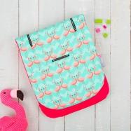 CUDDLECo Pamäťová podložka do kočíka Comfy-cush, Flamingo