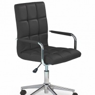 Detská otočná stolička Halmar Gonzo 2 čierna