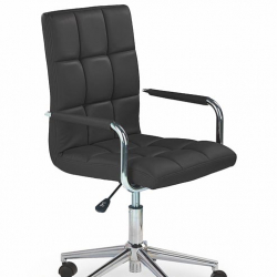 Dětská otočná židle Halmar GONZO 2 černá
