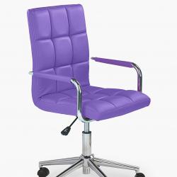 Dětská otočná židle Halmar GONZO 2 fialová