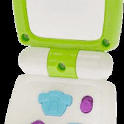 BABY'S HAPPINESS Telefon z lusterkiem, światłem i dźwiękiem