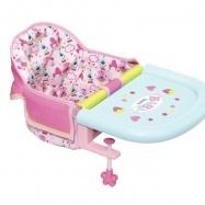 Baby Born® Krzesełko Do Karmienia Przy Stole W Pud. 825235