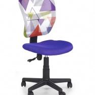 Halmar Detská otočná stolička JUMP fialová