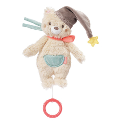 BABY FEHN Bruno Hrací hračka, mini méďa