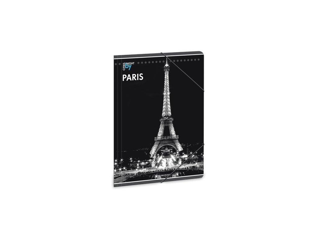 Složka na sešity Noční Paříž A4