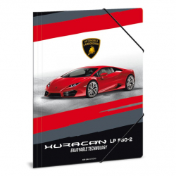 Zložka na zošity Lamborghini červené A4
