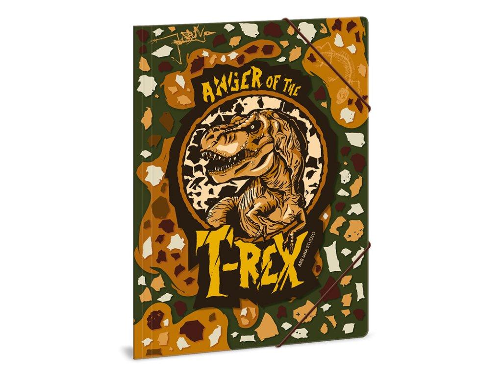 Složka na sešity T-Rex A4