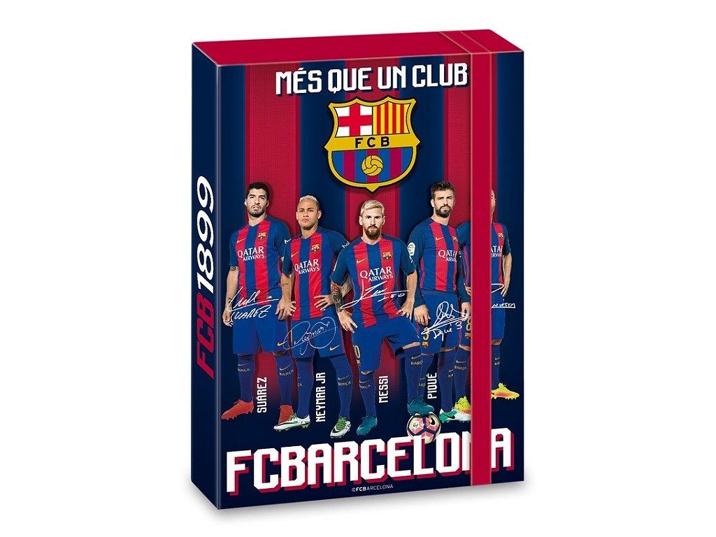 79c920ce7f Box na zošity FC Barcelona A4 hráči