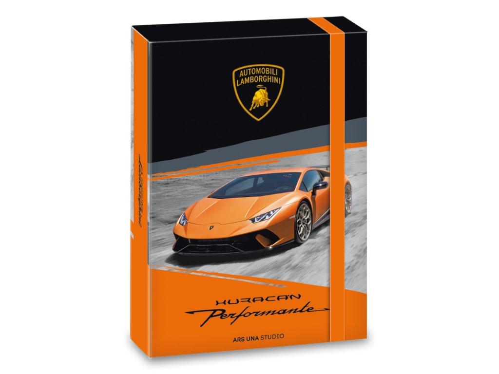 556705775a ARS UNA Menovky na zošity Lamborghini 18ks