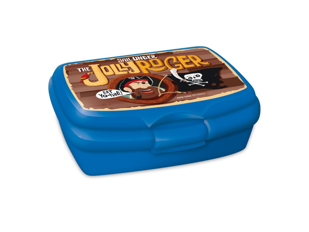 Box na desiatu Pirát Jolly Roger