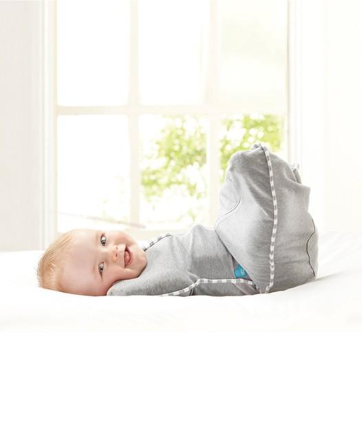 LOVE TO DREAM Rychlozavinovačka Swaddle Up Original, White 3 - 6 kg