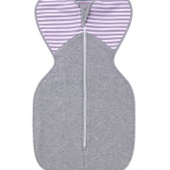 LOVE TO DREAM Rożek Swaddle Up Winter, Lilac 3 - 6 kg