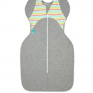 LOVE TO DREAM Rożek Swaddle Up 50/50 Winter, Multi Stripe 6 - 8.5 kg