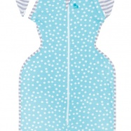 LOVE TO DREAM Swaddle Up 50/50 Summer Lite, Aqua 6-8,5 kg