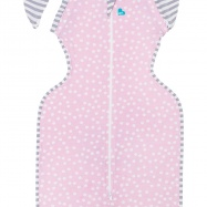 LOVE TO DREAM Swaddle Up 50/50 Summer Lite, Pink 6-8,5 kg