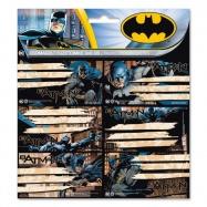 Jmenovky na sešity Batman 18 ks